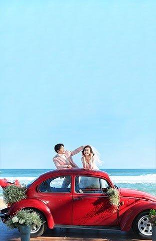 三亚湾-沙滩汽车