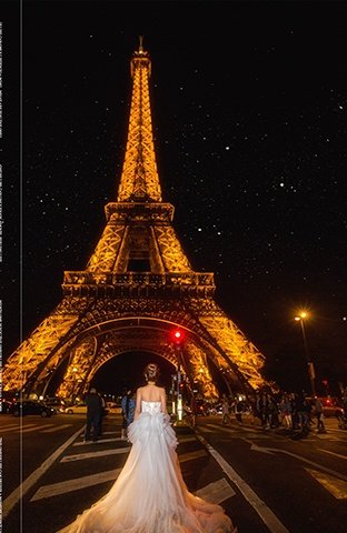 巴黎-如花释放